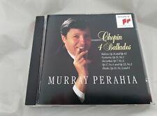 MURRAY PERAHIA CHOPIN 4 BALLADES CD sony