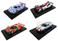 Sammlung von 4 Modellautos 24h Le Mans 1:43 Spark Miniatur Auto Dieacast LM36