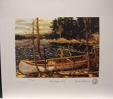"TOM THOMSON "" The Canoe 1912 "" Group of Seven art print MINT Algonquin park"