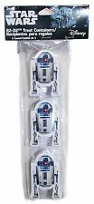 3x Disney Star Wars R2-D2 Figural Easter Eggs Treat Container Party Favor 3ct