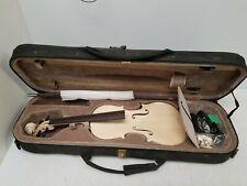 4/4 DIY Violin Kit w/Case