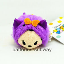 "3.5"" New Halloween Minnie in Pumpkin Tsum Tsum mini Soft Stuffed Plush Toy Doll"