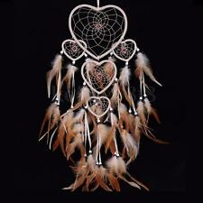 Dream Catcher With Feathers Large following Small Heart Dreamcatcher Decor UK