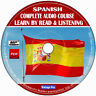 Spanish Language Course Learn By Read & Licensing Beginners To Advance MP3 CD