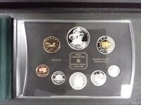 2004 PROOF DOUBLE DOLLAR SET - CANADIAN 8-COIN SET - NO BOX - COMES WITH COA