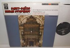 TWO 404 Saint-Saens Organ Symphony City Of Birmingham Sym Orch Louis Fremaux TAS