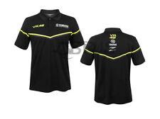 Genuine Yamaha Valentino Rossi VR46 Black Line Men's Polo Shirt
