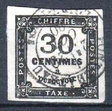 "FRANCE STAMP TIMBRE TAXE N° 6 "" CHIFFRE TAXE 30c NOIR "" OBLITERE TTB SIGNE  P571"