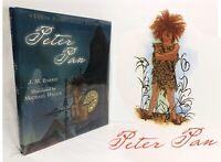 Peter Pan 100th Anniversary Edition Hardcover J.M. Barrie  New