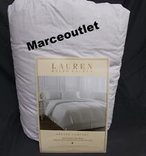 Ralph Lauren Bronze Comfort White Down Comforter KING