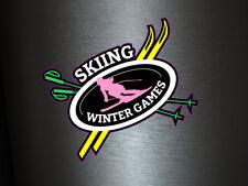 1 x adhesivo skiing invierno Games bosque Sport sticker Fun gag Ka-Boom splash FBI