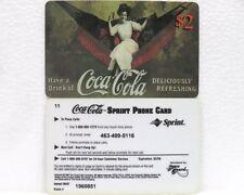 Coca-Cola - SCORE BOARD-SPRINT PHONE CARD n° 12 - sc. 02-98-scheda telefonica