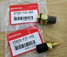 Oem Set of 2 Cooling Fan Switch Coolant Temp Sensor Fit Honda Accord Cr-V Civic (Fits: Acura Vigor)
