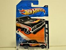 HOT WHEELS 1967 CHEVROLET CHEVY CHEVELLE SS 396 BLACK NEW IN 2011 PACKAGE NICE