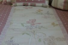 Girls Bespoke Handmade Single Bed Quilt Throw Bedspread (1 of 2 available)