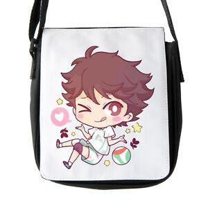 Chibi Oikawa Toru Haikyuu Voleyball Shoulder Bag Reporter Bag