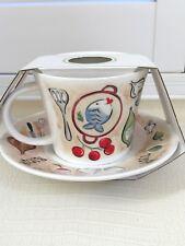 Roy Kirkham Fine Bone China Large Cup & Saucer set England Head Chef Porcelain