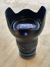 Zeiss Milvus 21mm - f2.8 - Nikon Mount
