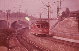 Trolley Slide - Pacific Electric Railway #743 Streetcar Interurban Los Angeles