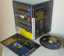 THE OPERATIVE: NO ONES LIVE FOREVER - PlayStation 2 PS2 Play Station Gioco Game