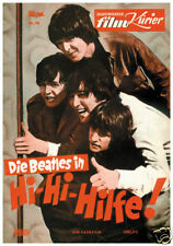 Help The Beatles #2 movie poster print
