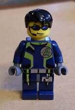LEGO AGENTS-agenti-Agent Chase con 2 personaggio di volti Blu Nuovo