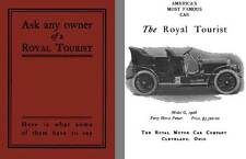 Royal 1906 - Ask Any Owner of a Royal Tourist - Here is What Some of Them have t