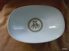 "Vintage Noritake Oval Vegetable Bowl Hermitage 10""  RARE"