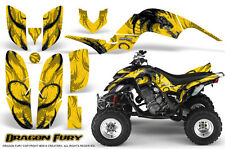YAMAHA RAPTOR 660 GRAPHICS KIT CREATORX DECALS STICKERS DRAGON FURY SY