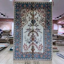 YILONG 2'x3' Small Handmade Silk Classic Rug Home Decor Hand woven Carpet 274B