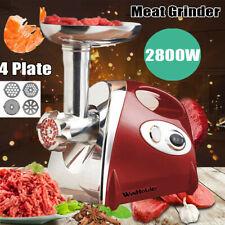 2800W Electric Meat Grinder Sausage Maker Home Kitchen Tool Food Mincer Machine