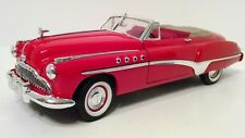 Motor Max 1949 Buick Dynaflow RED Convertible 1:18 Scale Collectible DieCast