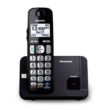 Panasonic Kx-Tge210B Intelligent Eco-Mode Led 1 Handset Cordless Phone New