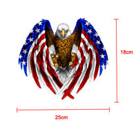 Cool Bald Eagle USA American Flag Car Accessories Bumper Window Decal Sticker x1