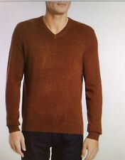 NWT-Black Brown 1826 100% Cashmere Small-$199 Men's sweater V-neck@luxurious top