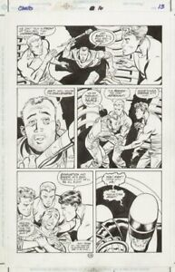 Challengers 16 p.13 - 1998 art by Mike Zeck