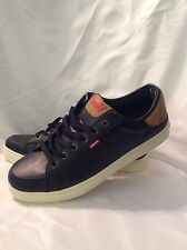 NWOB Men's Black Levi's Retro Fashion Sneakers Shoes Size 11