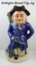 GRANDE Vintage Burlington Musical Long John Silver TOBY JUG