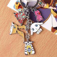 Digimon Adventu Cosplay Digital Monster Key Chain Gabumon Patamon Keyring Gift