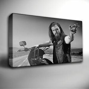 Sons Of Anarchy Opie GICLEE CANVAS Wall Art Picture *Choose your size