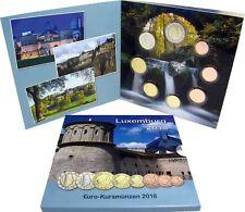 Luxemburg 1 Cent bis 2 Euro 2018 KMS Sondersatz im Folder