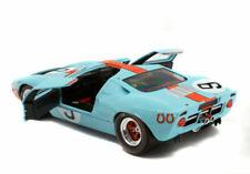 Solido Ford GT40 MKI Le Mans 1968 1:18 P.Rodriguez Voiture de Sport - Bleu