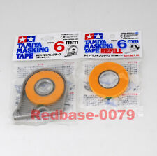 TAMIYA 87030 87033 Model paint spray Masking Tape 6mm + Refill