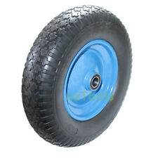 "16""Solid Wheelbarrow Wheel Flat -Free Tyre No Air Pu Foam Puncture Proof Wheel"