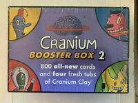 Cranium Booster Box 2 Cards & Cranium Clay Board Game Add On - BRAND NEW Sealed