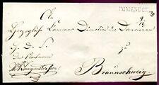 IMMENDORF 1847 VORPHILABRIEF nach BRAUNSCHWEIG(C1246