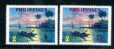 Philippines Scott # 817, 818 - MH