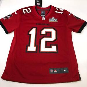 Tampa Bay Buccaneers Tom Brady NFL Super Bowl Champion Jersey Youth (8) Small