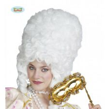 Guirca 4690 Parrucca Bianca donna duchessa epoca Carnevale Halloween
