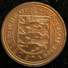 Guernsey 1/2 Penny 1971   CH BU